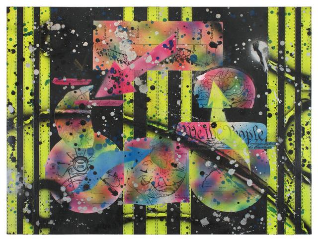 , 'Knotted Minds,' 1989, Lazinc