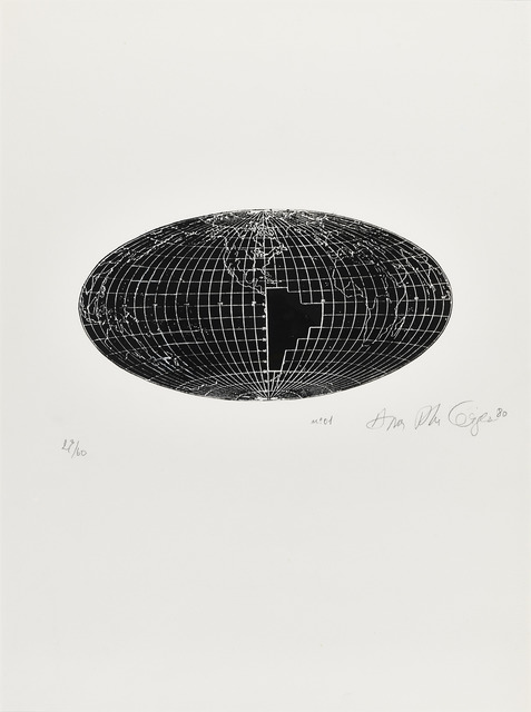 Anna Bella Geiger, 'Local da ação N° 1', 1980, Henrique Faria Fine Art