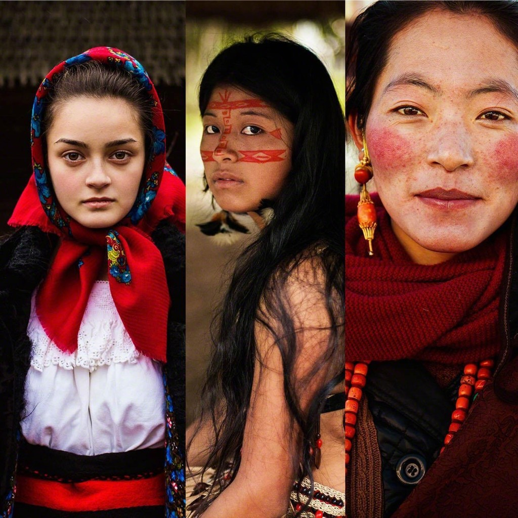 The Atlas of Beauty: Romania, Amazon, Tibet. Artist: Mihaela Noroc. Opening evening: April 16, 2015, Artfooly Gallery, Bucharest, Romania.