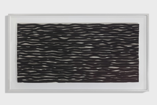 Sol LeWitt, 'Horizontal Lines in Black and Gray', 2004, Alfonso Artiaco