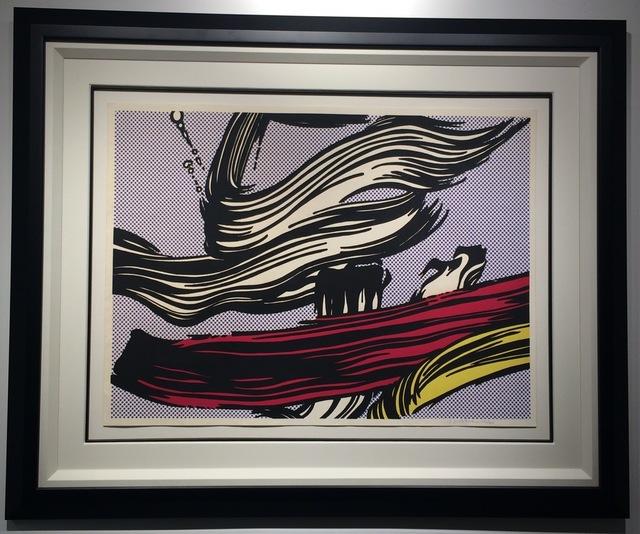 Roy Lichtenstein, 'Brushstrokes', 1965, Print, Screenprint, Soho Contemporary Art