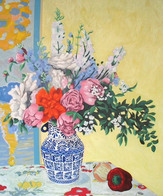 , 'Still life with Peonies,' 2010, Nina Johnson