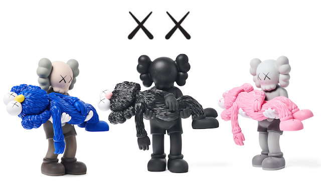 KAWS, 'Gone (Set of three)', 2019, Lougher Contemporary