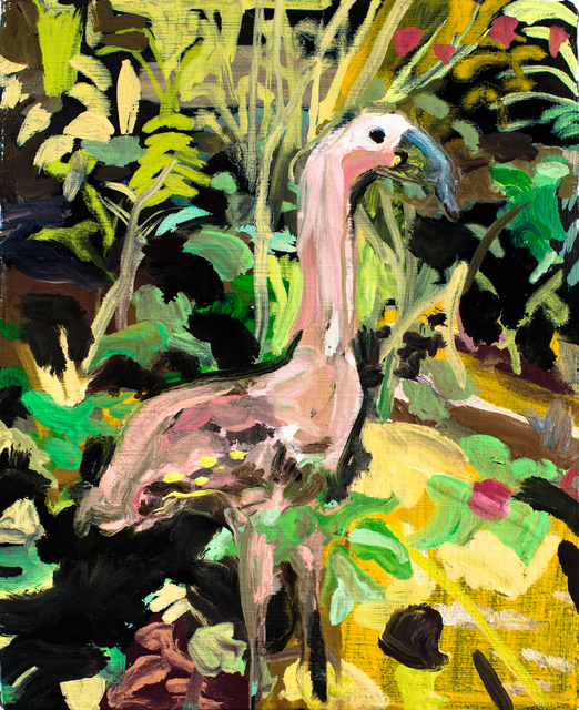 , 'Flamingo at Villa Elma,' 2014, Taymour Grahne