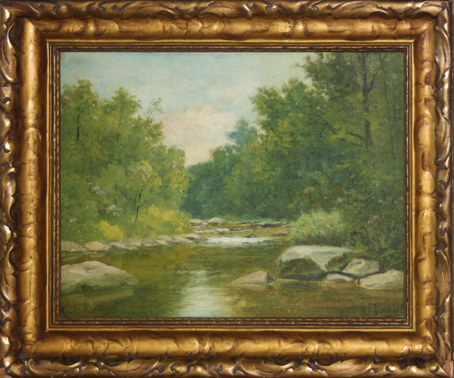 Albert Francis King, 'Woodland Stream', 1880-1920, EastCoastArt