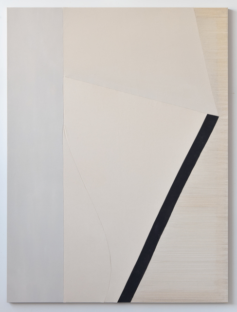 , 'the wave,' 2019, Ronchini Gallery