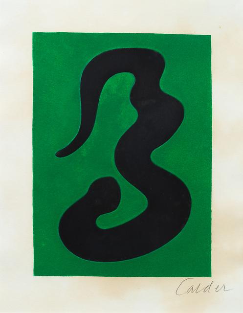 Alexander Calder, 'Fêtes', 1971, Hindman