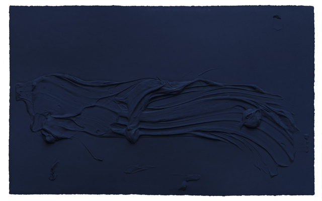 Jason Martin, 'Untitled Prussian Blue', 2014, Galerie de Bellefeuille