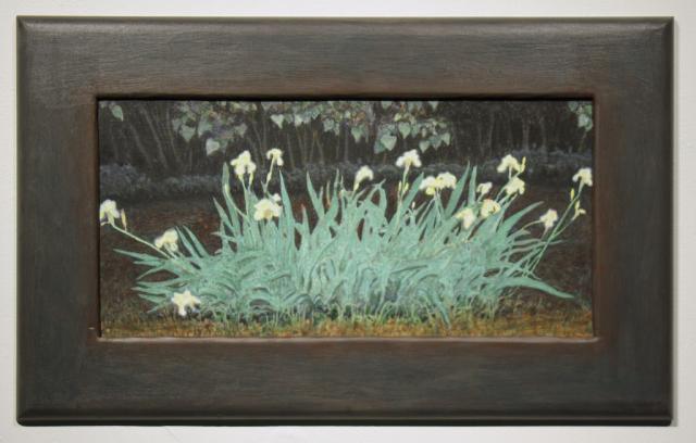 , 'Iris Bed Illuminated; Night,' 2017, PDX CONTEMPORARY ART