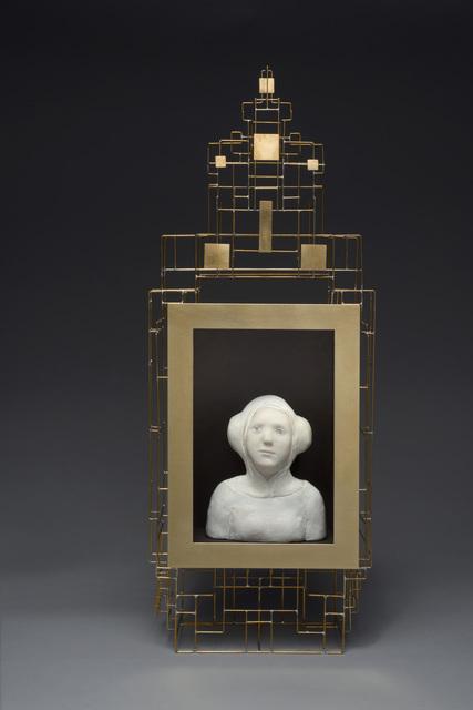 , 'Buste de femme renaissance dans son cadre doré ,' 2016, Slete Gallery