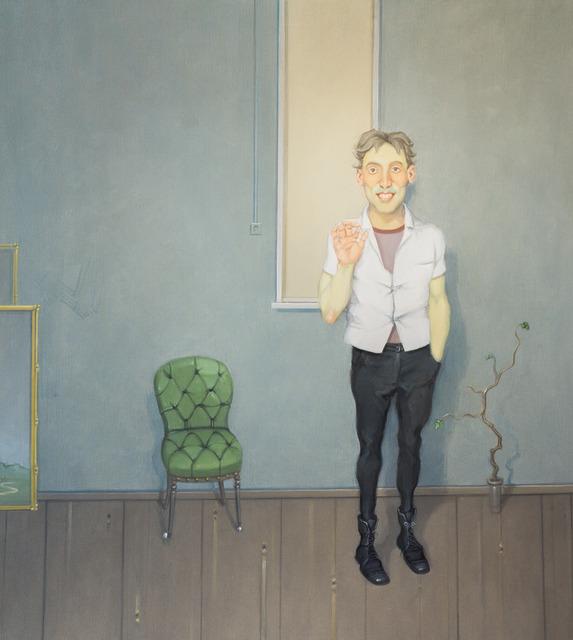 , 'Interior com Pessoa Sorrindo,' 2012, Zipper Galeria