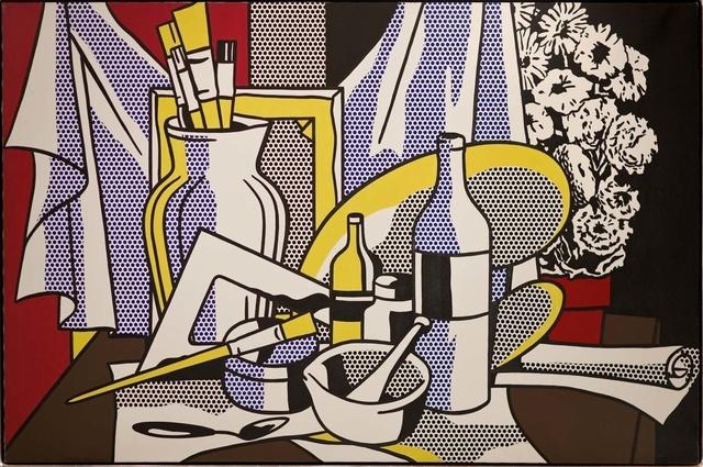 Roy Lichtenstein, 'Still Life with Palette', 1972, Gagosian