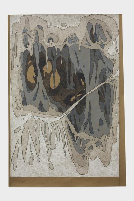 , 'Cave Study #1,' 2013, Jessica Silverman Gallery