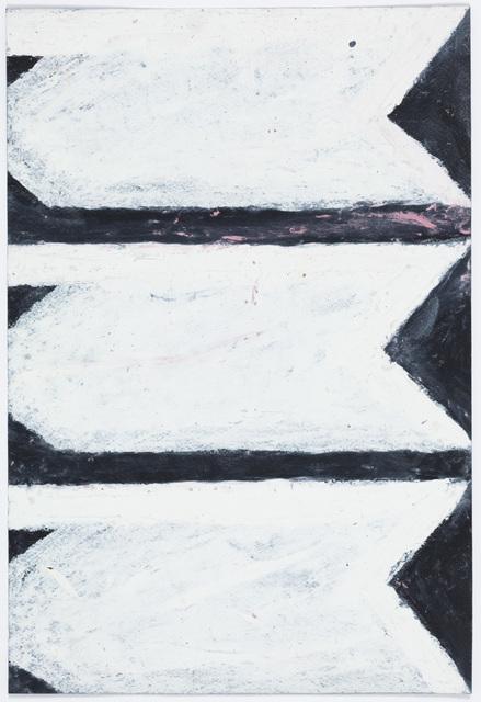, 'Carrots, White (Same on Black),' 2004-2009, Creativity Explored