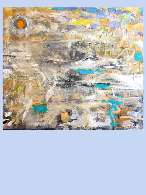Cheryl Miller, 'Catching Feelings', 2018, Painting, Acrylic, MvVO ART