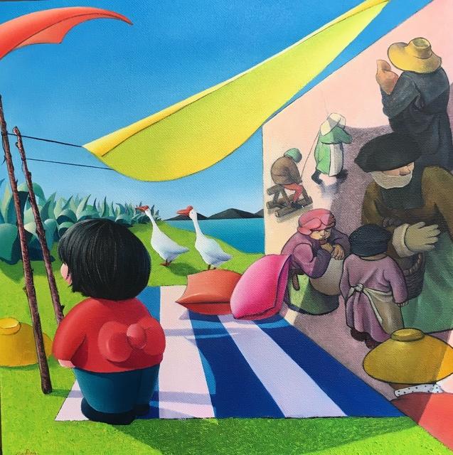 Ma Dan 马丹, 'Bruegel under sunshine', 2019, Amy Li Gallery