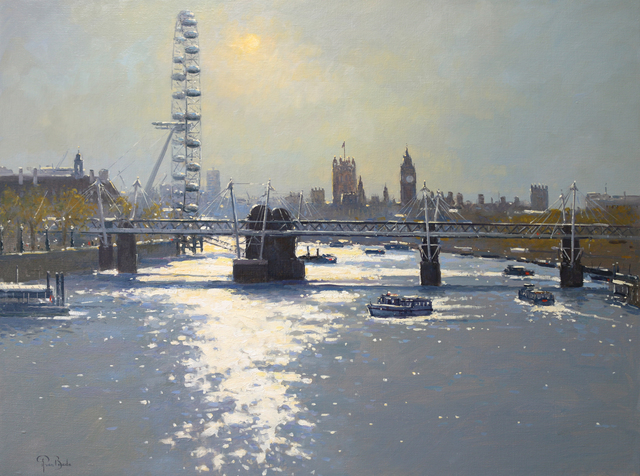 , 'Sunlight on the Thames,' , Gladwell & Patterson