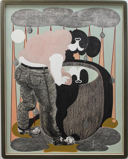 , 'regentonne II (rain barrel II),' 2017, galerie burster