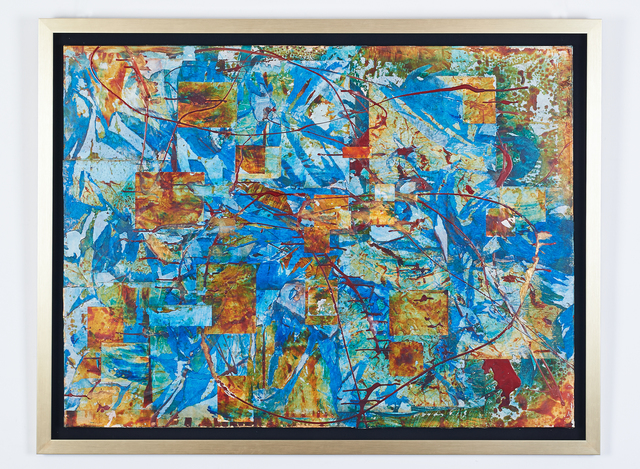 , 'Work Blue and Gold ,' 1990, H.ARTS COLLECTIVE