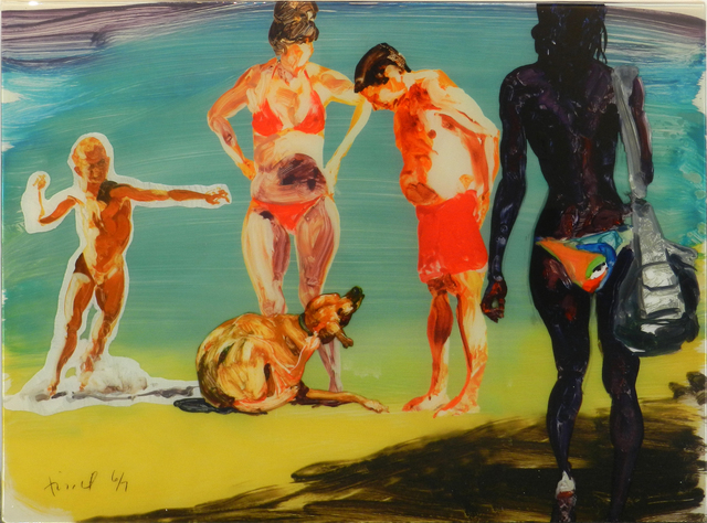 , 'On the Beach IV,' 2018, William Campbell Contemporary Art, Inc.
