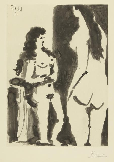 Pablo Picasso, 'Deux femmes. II (B. 1198; Ba. 1180)', 1965, Sotheby's