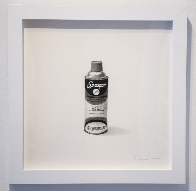 , 'Sprayon-Pressurized Finishes,' 2017, Vertical Gallery