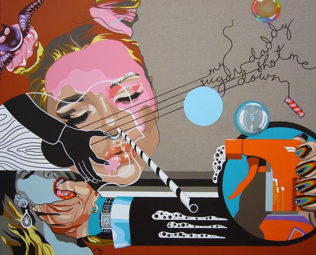 Myriam Baudin, 'Pchiiit Bang Bang', 2018, Galerie Bayart