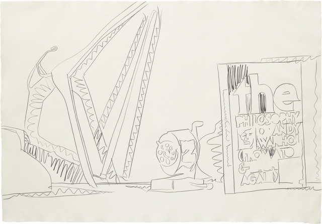 Andy Warhol, 'Still Life', 1975, Graphite on wove paper, Phillips
