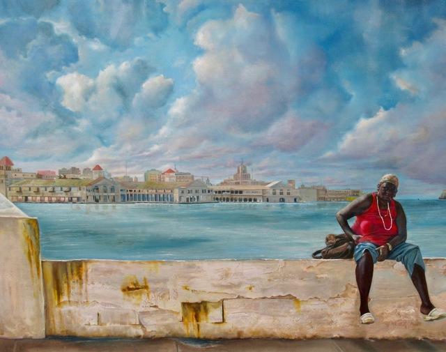 , 'En El Malecón,' 2017, Simard Bilodeau Contemporary