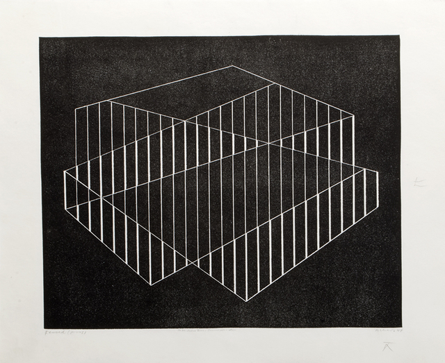 Josef Albers, 'Fenced', 1944, Mary Ryan Gallery, Inc
