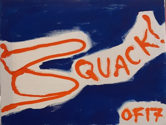 , 'Quack,' 2017, Robert Kananaj Gallery
