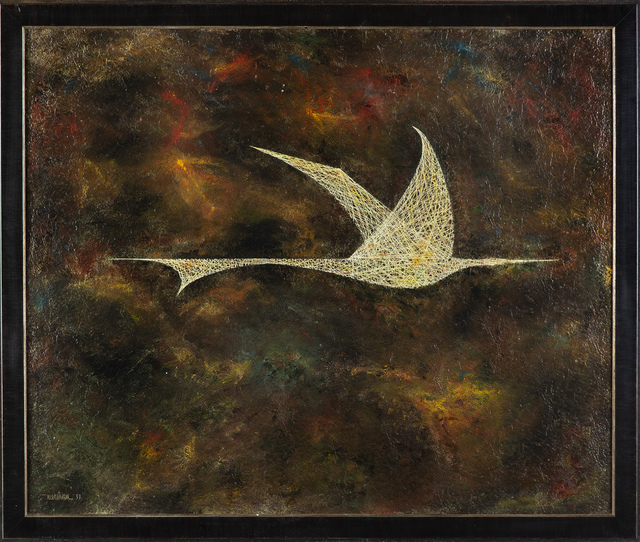 Leonardo Nierman, 'Bird in Flight', 1959, Modern Artifact