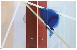 """, 'Série: """"Combos"""", díptico,' 2015, Referência Galeria de Arte"""
