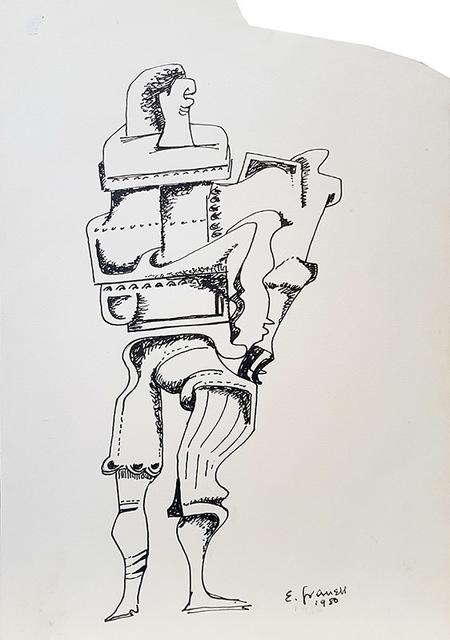 Eugenio Fernández Granell, 'El indiferente', 1980, Galería Artizar