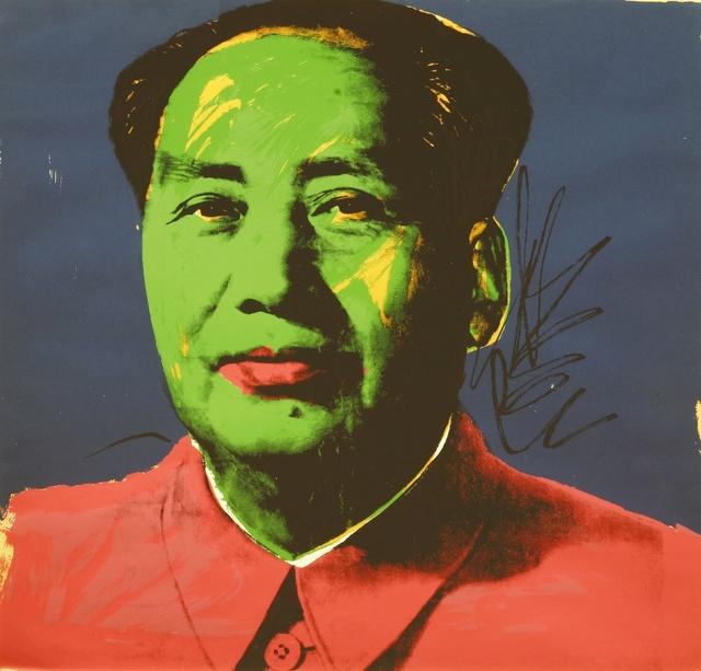 Andy Warhol, 'Mao 93 Original Screen print 1972', 1972, Hidden