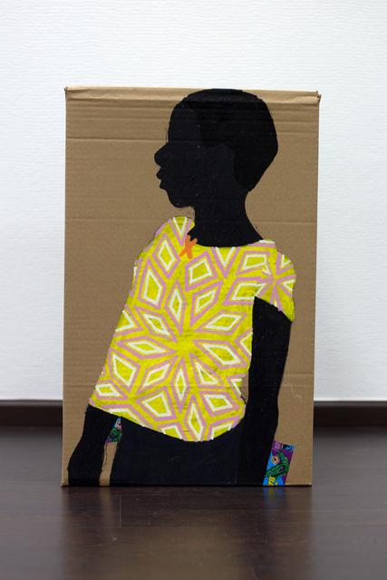 Raphael Adjetey Mayne, 'Untitled', 2020, Mixed Media, Mixed media on carton, ARTCO Gallery