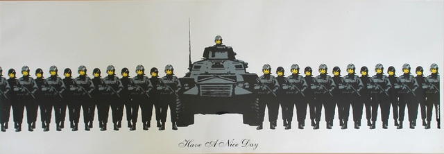 Banksy, 'Have A Nice Day (Signed Printer's Proof)', 2002, Prescription Art