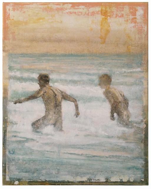 , '2 Bathers,' 2015, Albert Merola Gallery
