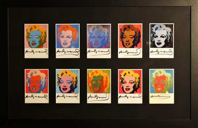 , '10 Marilyn Monroe invitations cards,' ca. 1980, Verosa