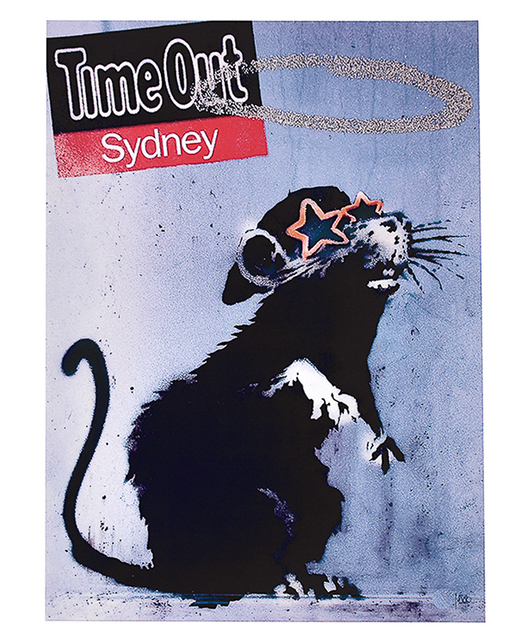 Banksy, 'TIME OUT SYDNEY', 2010, Silverback Gallery