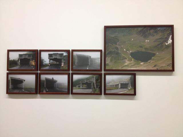 , 'siete falsos túneles y un ibón,' 2013, adhoc