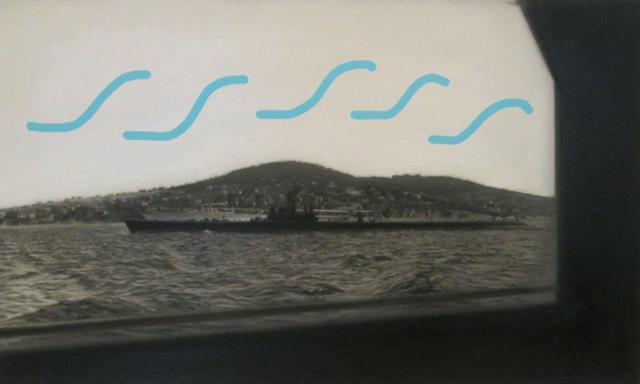 , 'Denizalti ve Savarona, No. 1 (submarine with S marks),' 2015, Tibor de Nagy