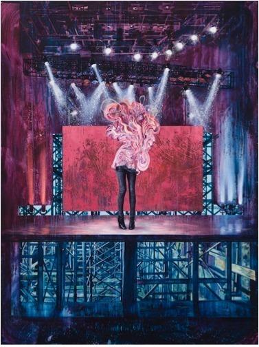 , 'L'actrice no. 1,' 2012, Galerie Lacerte Art Contemporain