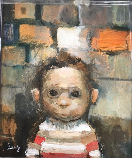 , 'Nipper in a Striped Jumper,' 2018, Barewall Art Gallery