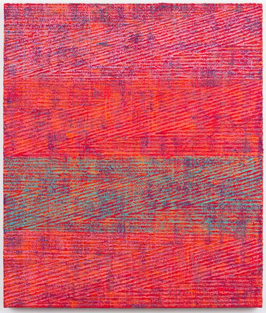 , 'Red Zig Zag,' 2016, Rhona Hoffman Gallery