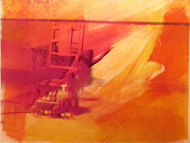 Andy Warhol, 'Electric Chairs, II.81', 1971, Hamilton-Selway Fine Art