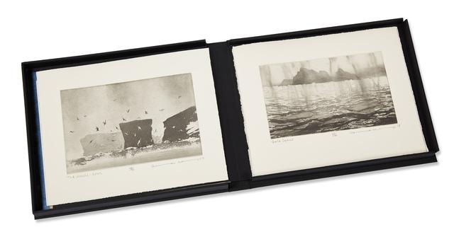 Norman Ackroyd, 'Fragments', 2018, Books and Portfolios, Complete portfolio of twelve etchings on 280gsm somerset rag, Roseberys
