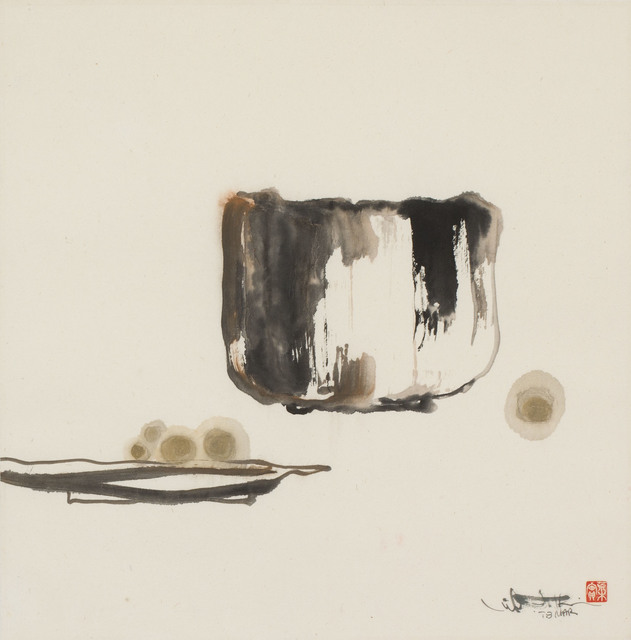 , 'Tea Bowl and Platter with Fruit (MA-130),' 1978, Erik Thomsen