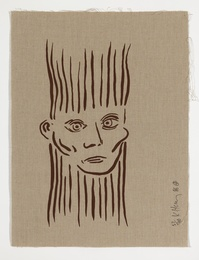 Keith Haring, 'Joseph Beuys (Littmann p.61),' 1986, Forum Auctions: Editions and Works on Paper (March 2017)
