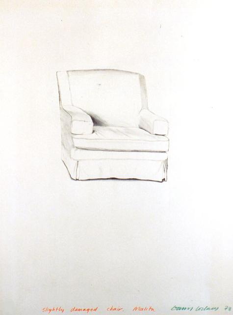 , 'Slightly Damaged Chair, Malibu,' 1973, Lyndsey Ingram Ltd.